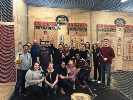 Throwing Axes With Philly IA