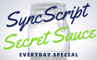 SyncScript Secret Sauce